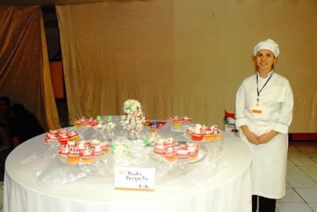 Chef Aida Roxana Ramirez -Intecap Central- 2do. Lugar