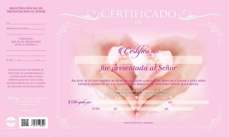 88d8ab767 Guatemala  Libreria Bautista  Misceláneos  Certificado De ...