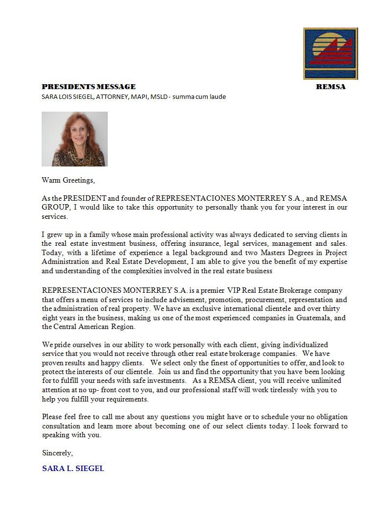 Property Management Prospecting Letters