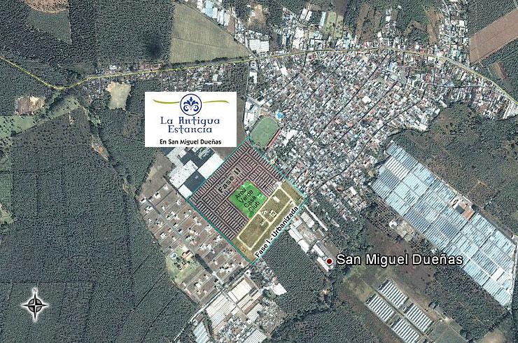 Guatemala La Antigua Estancia El Proyecto La Antigua