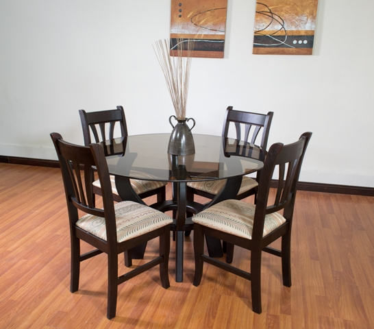 guatemala muebles primiun productos comedores muebles On comedores redondos de cristal