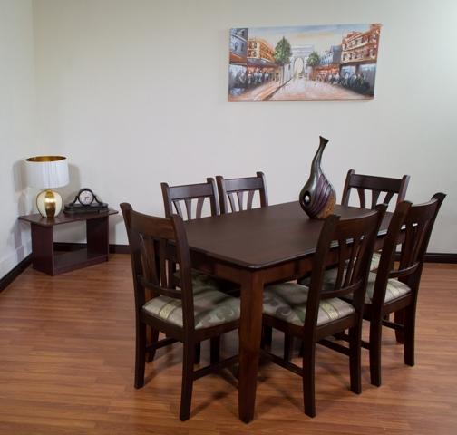 Guatemala muebles primiun productos comedores muebles for Comedores de 6 sillas modernos